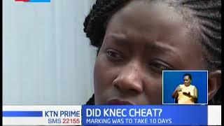 Did KNEC Cheat: We were overworked & under duress while Marking KCPE exams, Teacher says