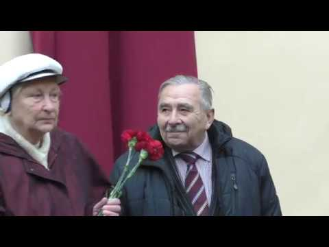 Открытие памятной доски Владимиру Высоцкому в СПб