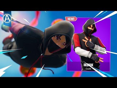 "NEW ""IKONIK"" SKIN Gameplay! (Fortnite Battle Royale LIVE) thumbnail"