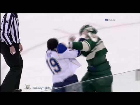 D.J. King vs Derek Boogaard Mar 14, 2010