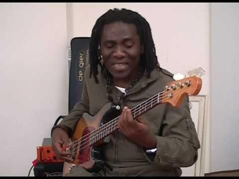 Richard Bona's new Bass: De Gier BeBop, part 2