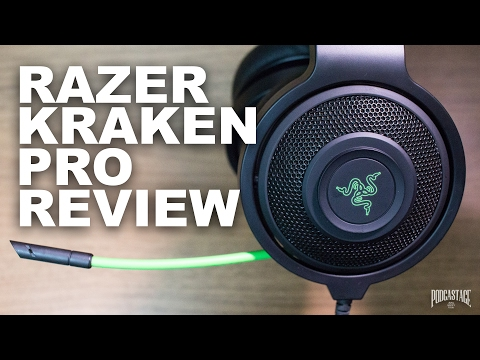 Razer Kraken Pro Analog Gaming Headset Review / Test