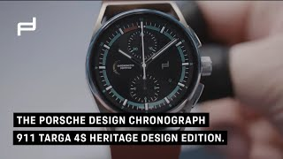 The #PorscheDesign Chronograph 911 Targa 4S Heritage Design Edition