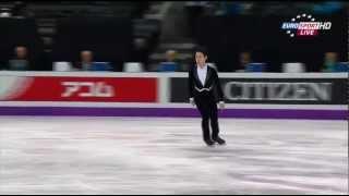 Denis TEN (KAZ) SP - WC 2013