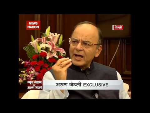 Exclusive Interview: Arun Jaitley terms demonetisation of Rs 500 and Rs 1000 as historic