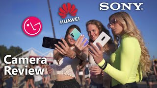 Huawei P30 Pro vs Sony Xperia 1 vs LG G8s ThinQ Camera Comparison Review