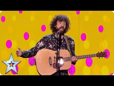 Get ready to LAUGH out LOUD with funnyman Micky P Kerr!   Semi-Finals   BGT 2018