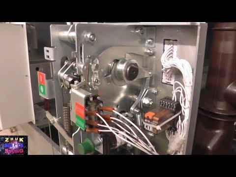 Как устроен привод элегазового выключателя