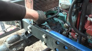 Belarus MTZ-82 restoration project. Part 19 | Radiator Replacement