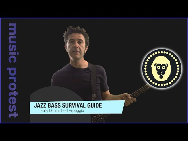 Jazz Bass: Fully Diminished Arpeggio