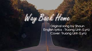 English Cover  Way Back Home Shaun |  Lyn Cover
