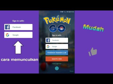 Cara login ke Pokemon Go dengan Facebook dan Google