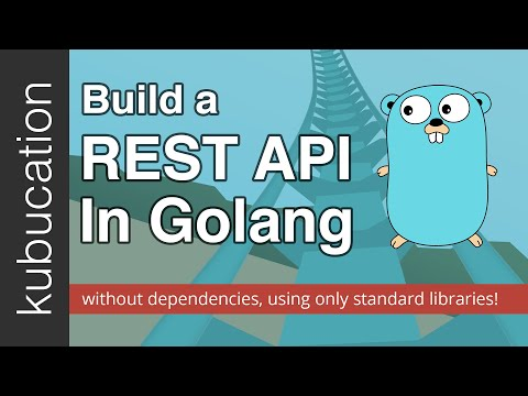 Let's build a REST API in Go with zero dependencies!