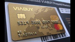 How to Free Register VIABUY Prepaid MasterCard ?