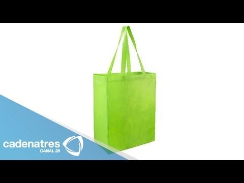 3305adc21 Bolsas ecológicas para ir al súper / Cómo hacer una bolsa ecológica -  YouTube