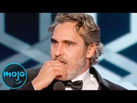 Top 10 Awkward Times Award Winning Speeches Got Cut Off