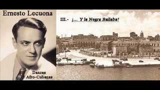 Ernesto Lecuona - Danzas Afro-Cubanas pour piano