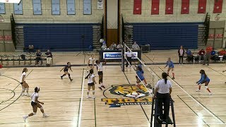 Women's Volleyball: Queensborough vs. Kingsborough CC (09/20/2018)