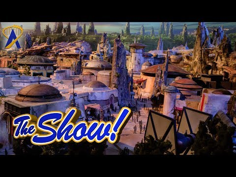 Attractions - The Show - D23 Expo 2017; Star Wars Galaxy's Edge model; latest news - July 20, 2017