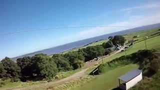 Laggan Outdoor Centre. U.K.'s Longest Zip Wire!