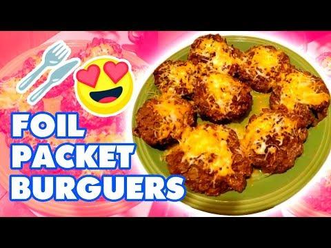 Foil Packet Burgers | LARGE FAMILY RECIPES! // Jamerrill Stewart