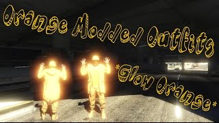 GTA 5 Online - How To Create Dope Orange Modded Outfits [Glow Orange] *PATCH 1.37*