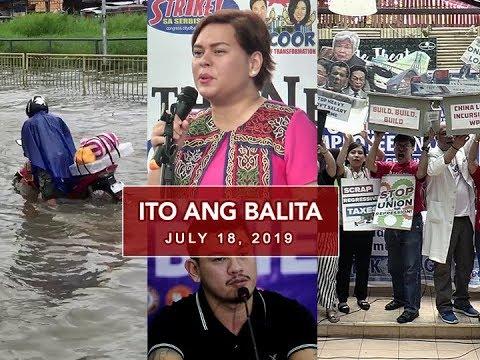 UNTV: Ito Ang Balita (July 18, 2019)