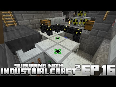 Surviving With IndustrialCraft 2 :: Ep.16 - Optimized Biogas Power Generation