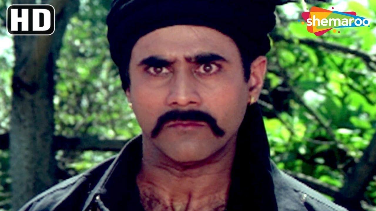 Best Of Puneet Issar Scenes From Sanam Bewafa Hd Pran Salman Khan Chandni Danny