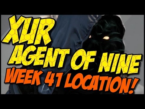 Xur Agent of Nine! Year 2 Week 41 Location, Items and Recommendations!