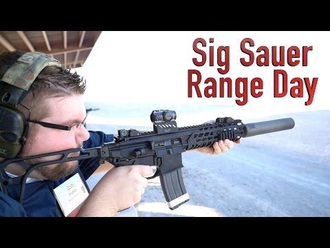 Sig Sauer Range Day - SHOT Show 2016
