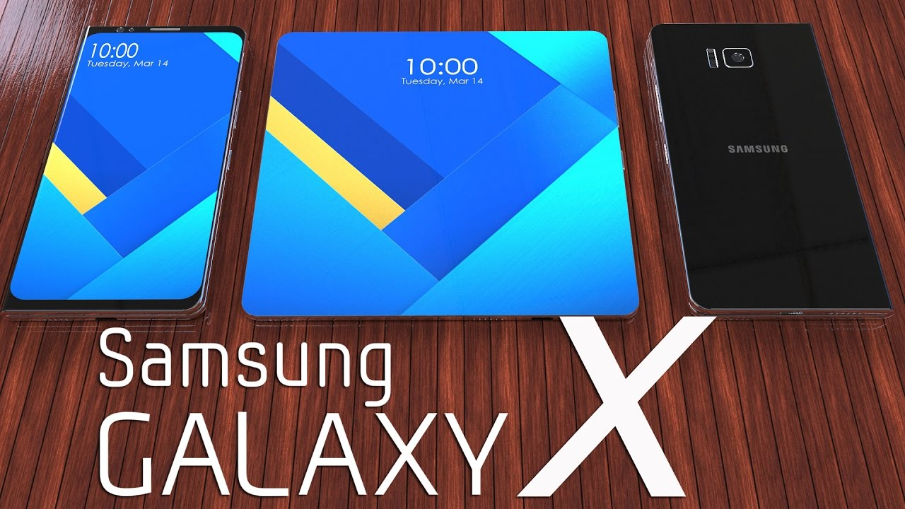 Samsung Galaxy X Foldable Smartphone 2017 First 3d Trailer Concept