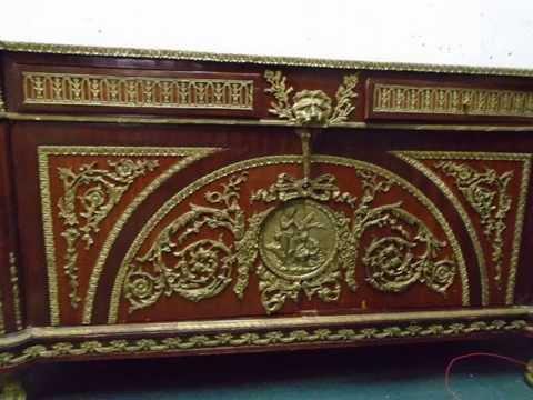 EXQUISITE AUTHENTIC ANTIQUE LOUIS XVI REPRODUCTION COMMODE CIRCA 1900