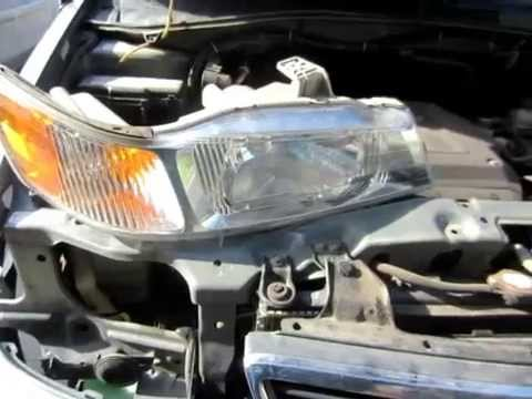 How To Remove Headlight Embly For Odyssey 1999 2000 2001 2003 2004