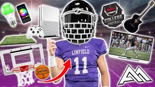 Top 10 ACCESSORIES Football Players Need In Their DORM ROOM