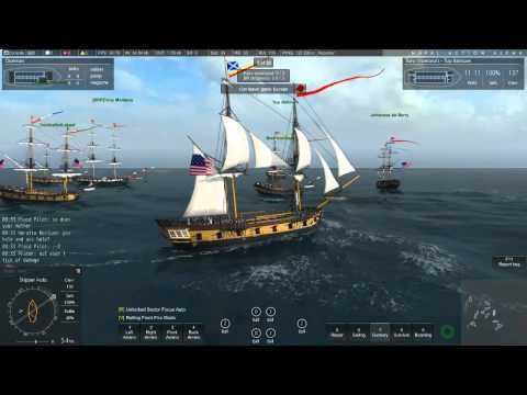 Naval Action: Port battle: JAN 6 2016: US vs. British: La Anguilla: Big fight in little ships