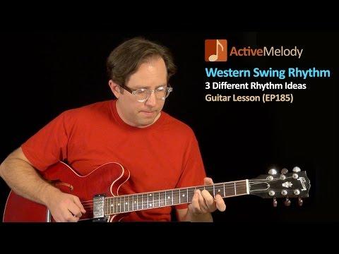 Western Swing Style Rhythm Guitar Lesson - Jazzy Chords - EP185