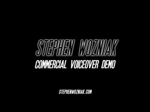 Stephen Wozniak Commercial Voiceover Demo 2016