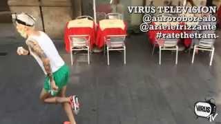 Race the Tram - Milan - Italy - Race the Tube parody