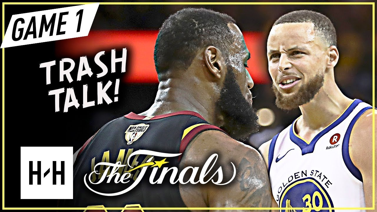 1113ecb2a08 LeBron James vs Stephen Curry INTENSE Game 1 Duel Highlights (2018 NBA  Finals) - TRASH Talking!