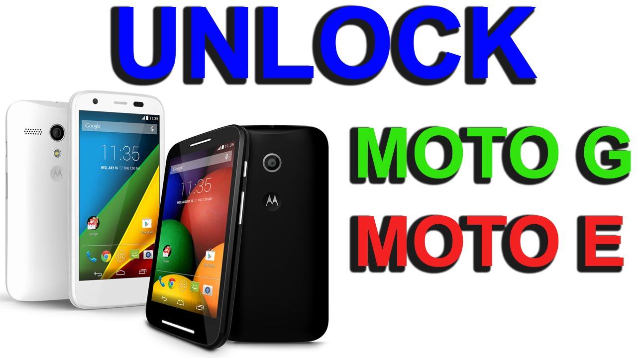 7816407371e Liberar - desbloquear (unlock) Motorola Moto G y Moto E . Tutorial [HD] -  YouTube