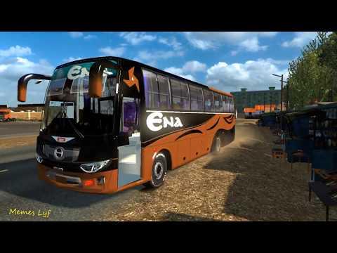ETS2 : Ena Hino AK1J Non AC Rough Driving || ETS2 Gameplay || Memes Lyf