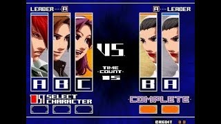 [TAS] The King Of Fighters 2003 Remix - TeamPlay