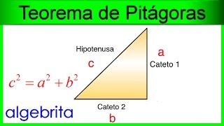 Hipotenusa y catetos Teorema de Pitágoras 352
