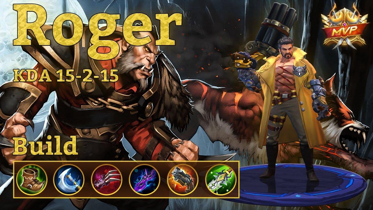 Mobile Legends: Roger MVP, Best Roger Damage Build! + Guide