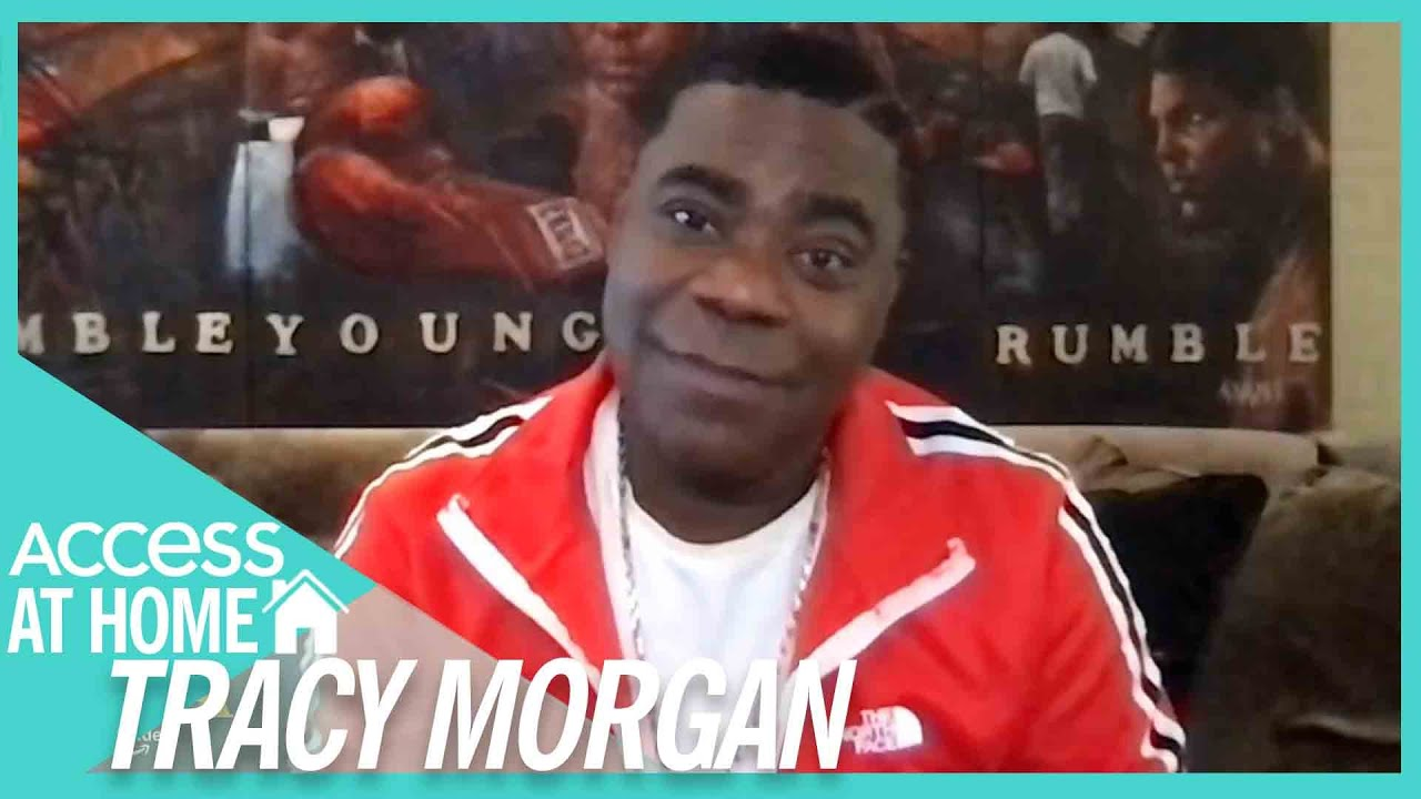 Tracy Morgan On Working w/ Eddie Murphy & Arsenio Hall In 'Coming 2 America'