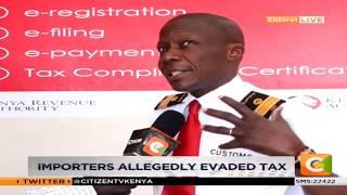 KRA impounded goods worthy Ksh.400,000 in Eldoret