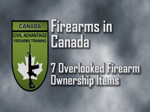 7 Overlooked Firearm Ownership Items