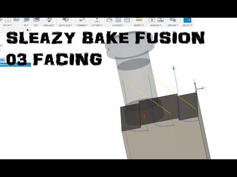 Speedy Fusion 360 Ep. 03 Facing Toolpath