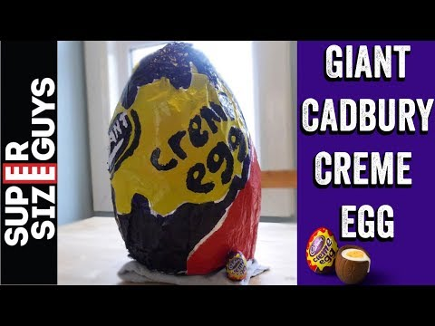 GIANT CADBURY CREME EGG
